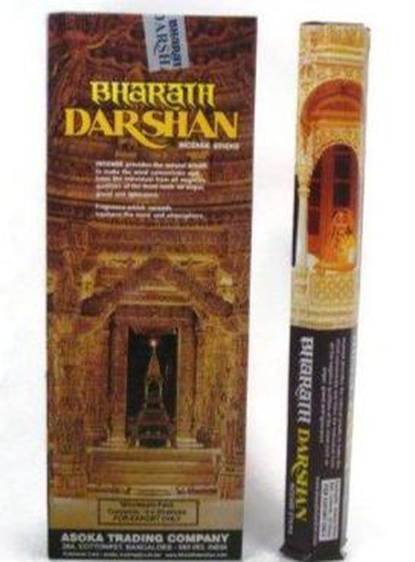 Bharat Darshan Incense Sticks, 120 Count-AROMATHERAPY-Magic Crystals