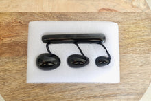 Load image into Gallery viewer, Black Onyx Stone Yoni Eggs Set and Massage Wand-YONI EGGS-Magic Crystals