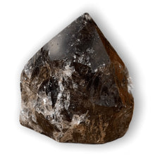 Load image into Gallery viewer, Looking for Smokey quartz crystal points? Shop at Magic Crystals for Smokey quartz Polished Point, Smokey quartz Stone, Smokey quartz Point, Stone Point, Crystal Point, Smokey quartz Tower, Power Point at Magic Crystals. Find genuine and quality Natural Smokey quartz Gemstone in Magiccrystals.com .