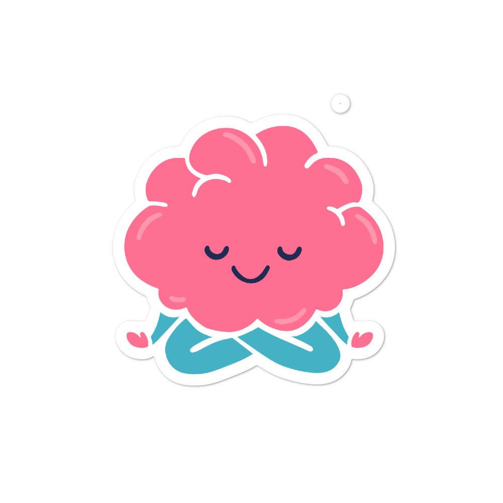 Sticker - Your Brain On Yoga - Lotus