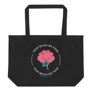 Black Tote - Your Brain On Yoga - Tree