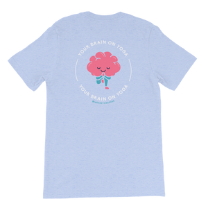 Unisex T-Shirt - Your Brain On Yoga - Tree