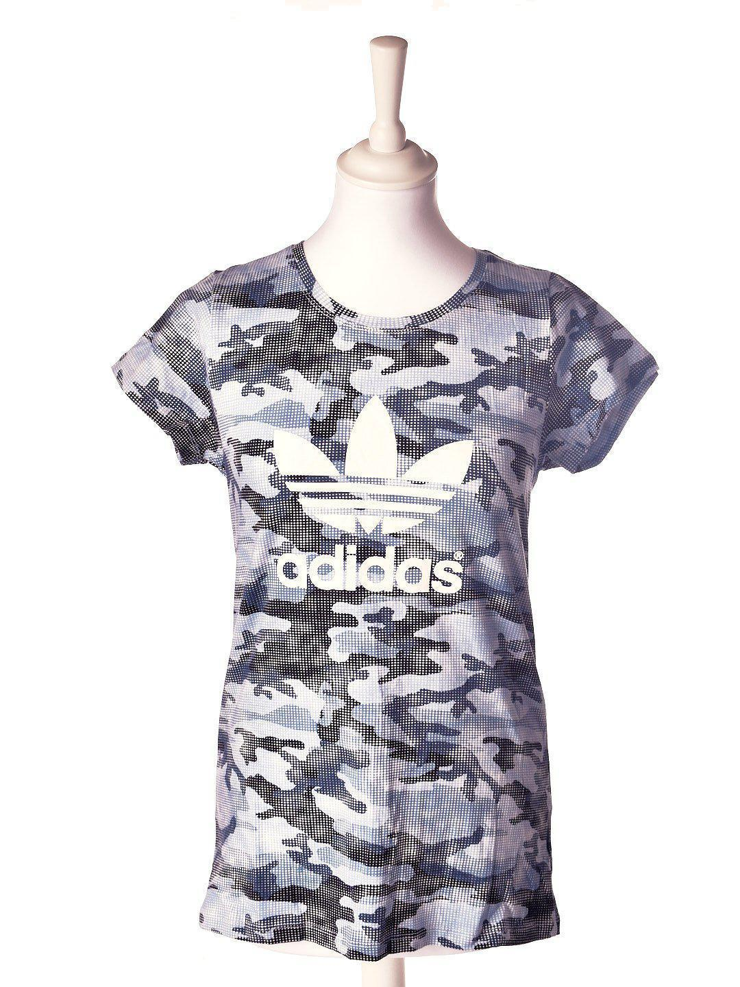 Camouflage T-shirt fra Adidas