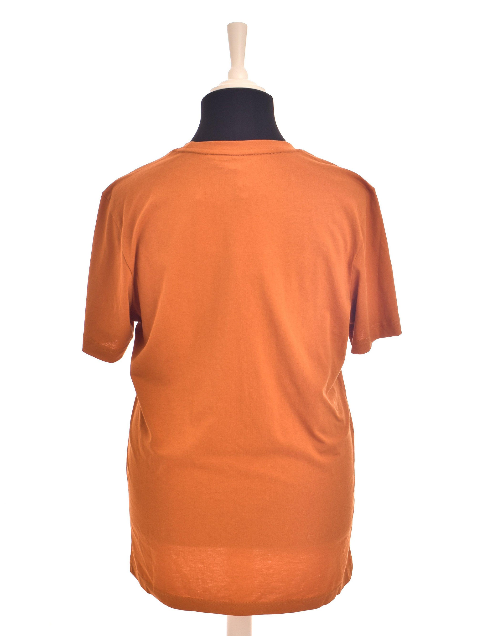 Orange T-Shirt fra Adidas