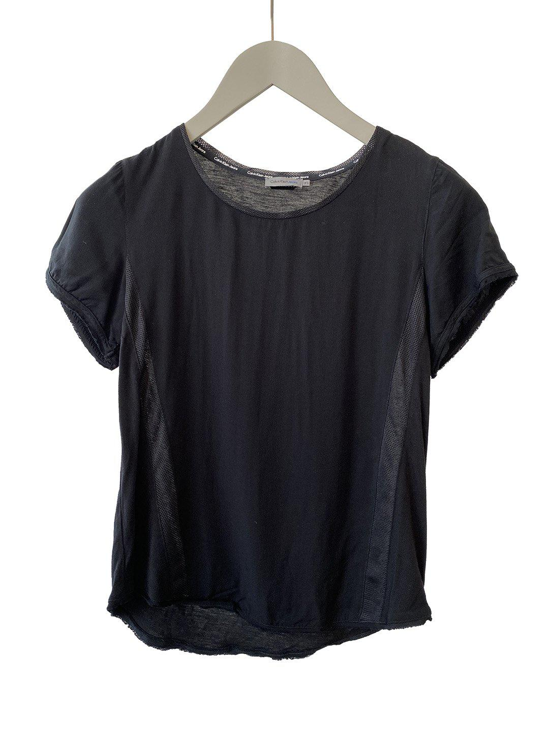 Sort Sports T-Shirt fra Calvin Klein Jeans