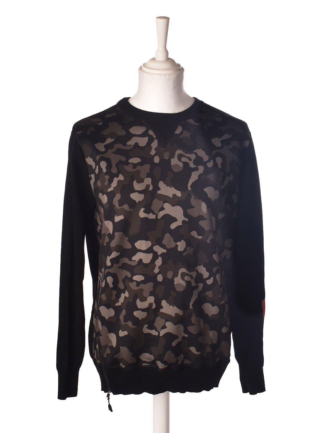 Sweat Shirt med Camouflage fra Christopher Shannon