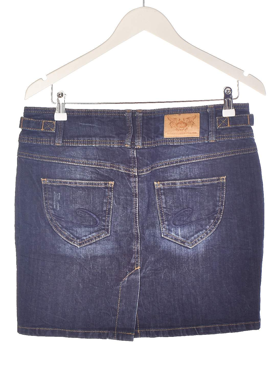 Kort Denim Nederdel