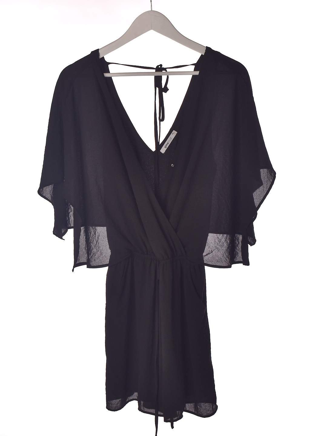 Sød sort playsuit