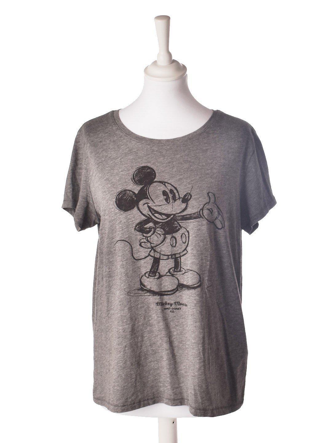 Mickey Mouse T-Shirt fra H&M