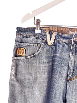Denim shorts fra MassDnm