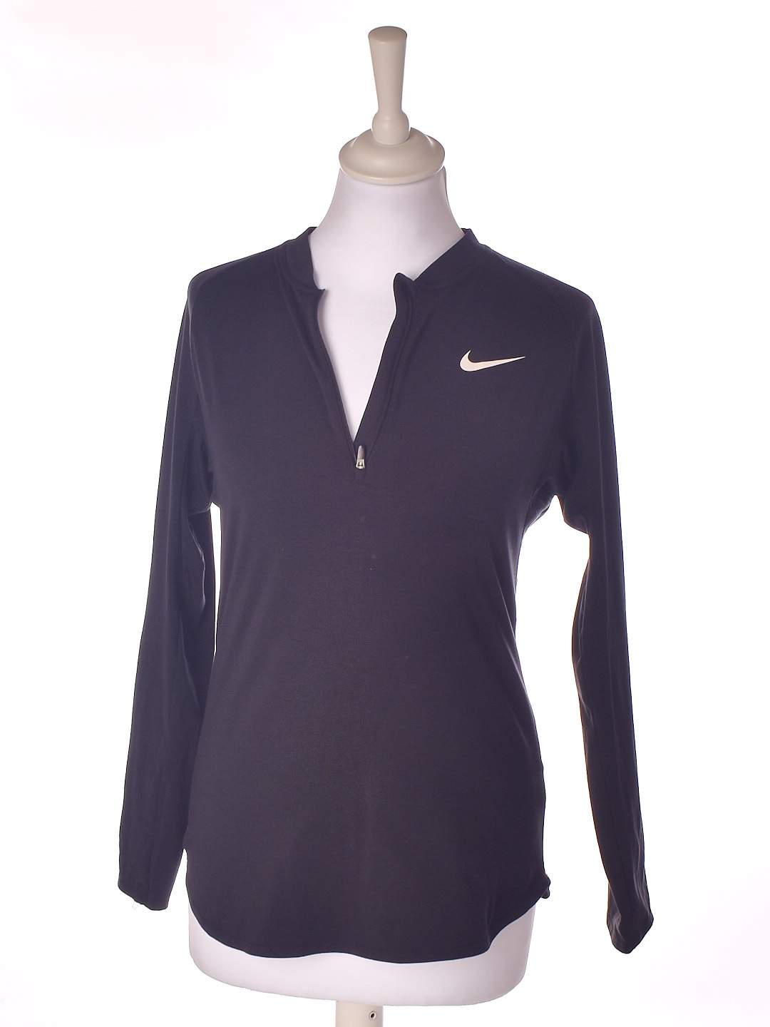 Nike Dri-fit bluse i sort