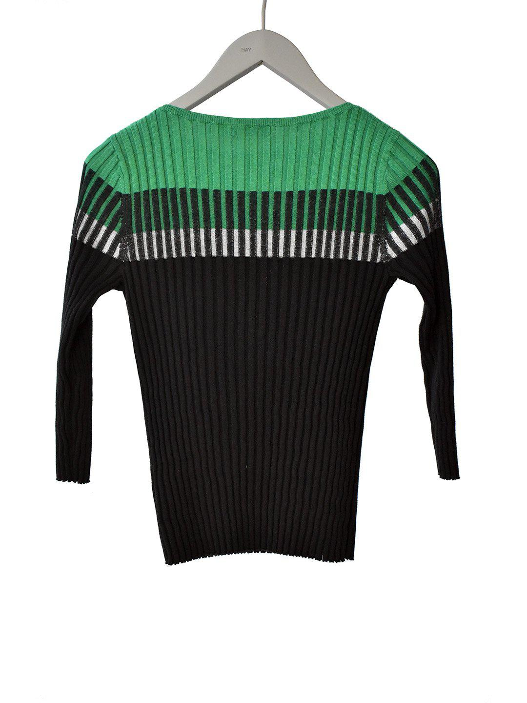 Sort/Grøn Strik Sweater fra Ralph Lauren