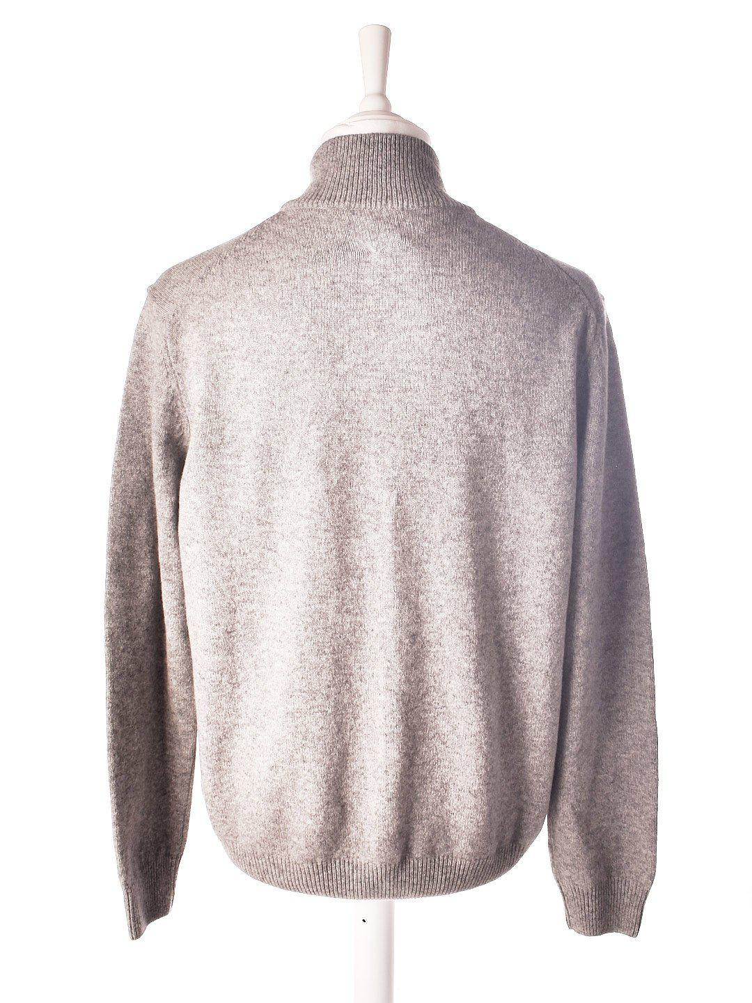 Half Zip Uld Sweater fra Rugged & Refined