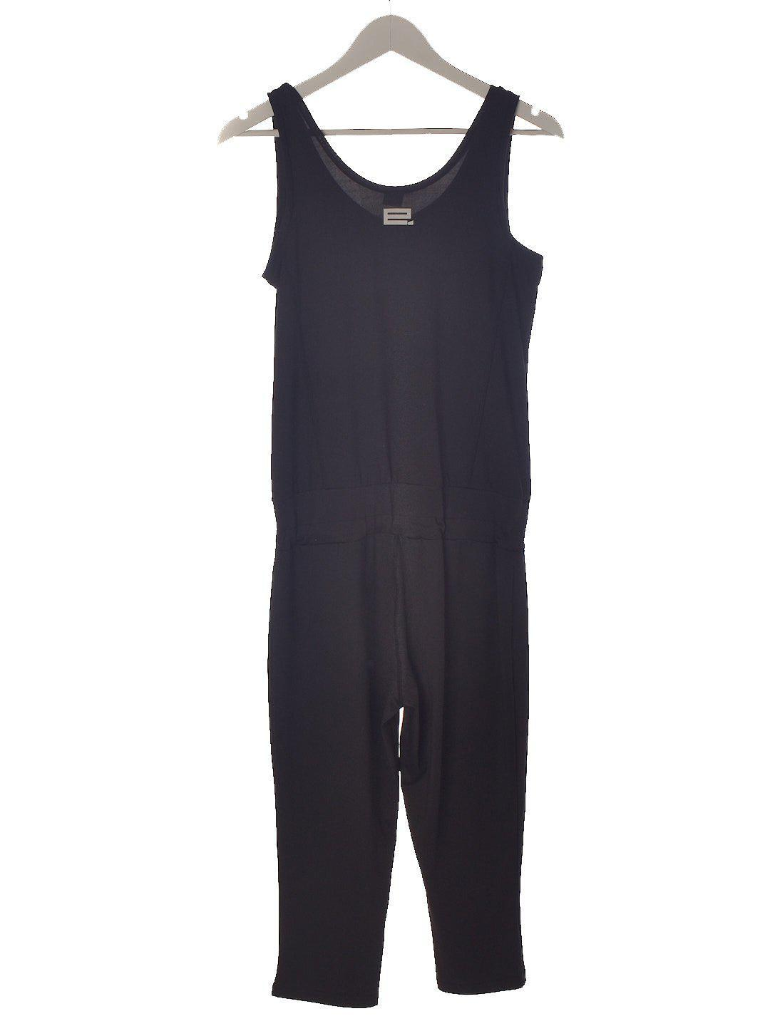 Blød Sort Jumpsuit