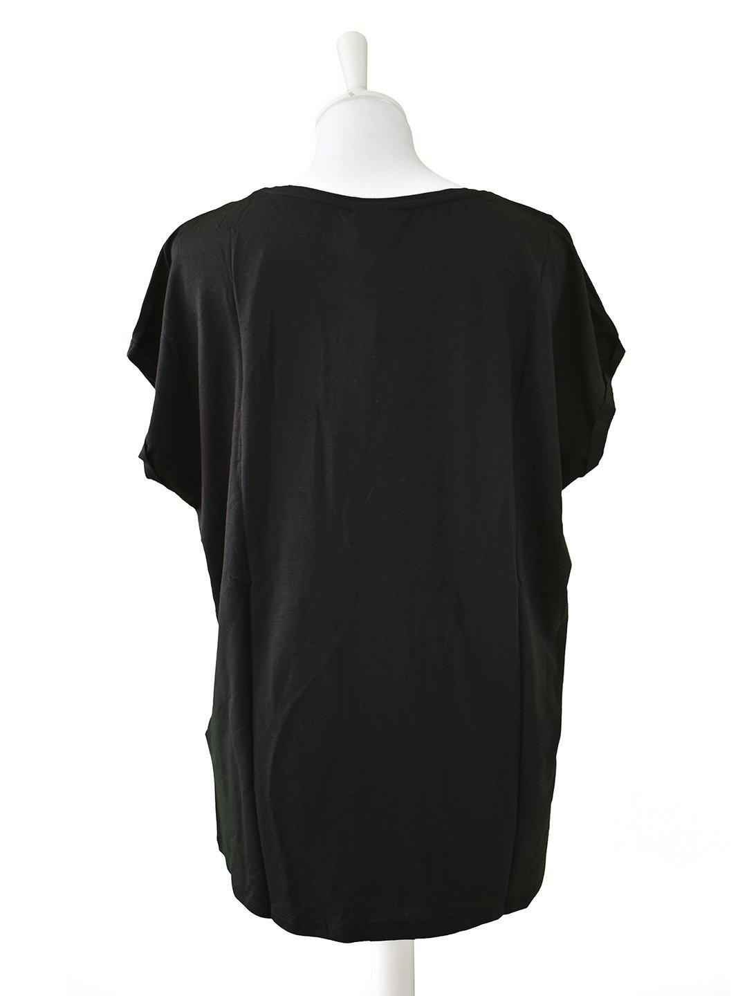 Sort Basis T-shirt fra Aware by Vero Moda