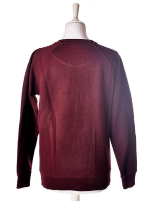 Bordeaux Sweat Shirt fra Why Not