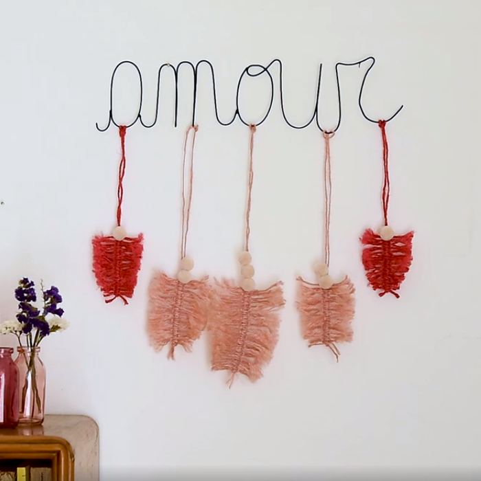 Tutorial - Decoro Amour Macramè