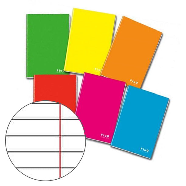 Quaderno Maxi Fluo Color A4 G80 0C(1Rc) Ff20