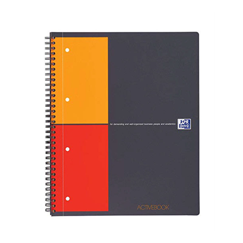 Blocco Activebook a spirale quadretti 5 mm