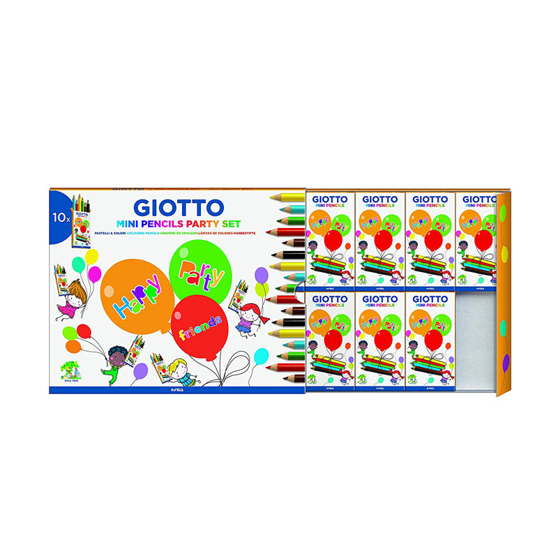 Giotto mini pencil party set