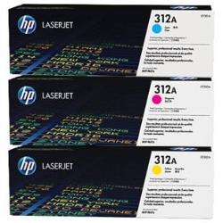 HP 312A  TONER  3-PACK CYM