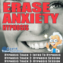 Load image into Gallery viewer, Erase Anxiety Hypnosis MP3 Download