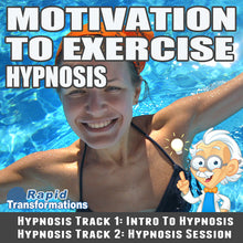 Load image into Gallery viewer, Motivation To Exercise Hypnosis MP3 Download