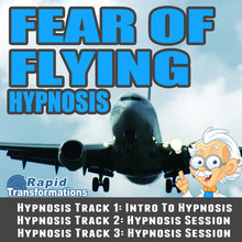 Load image into Gallery viewer, Fear Of Flying Hypnosis MP3 Download