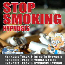 Load image into Gallery viewer, Stop Smoking Hypnosis MP3 Download