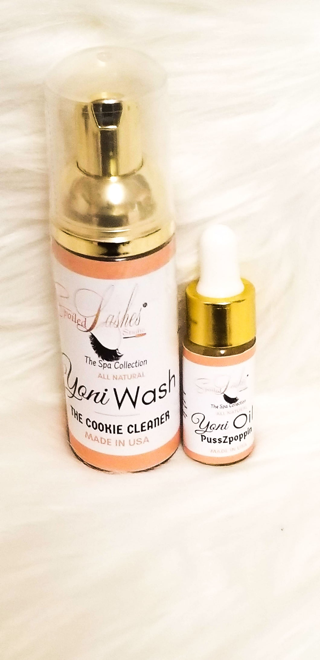 Travel Set Yoni Wash & Yoni Oil