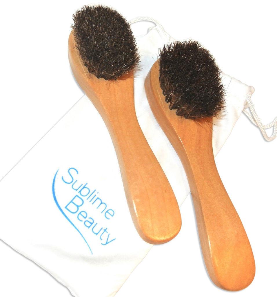 Upgraded Skin Brushes for Face (2) in Pouch