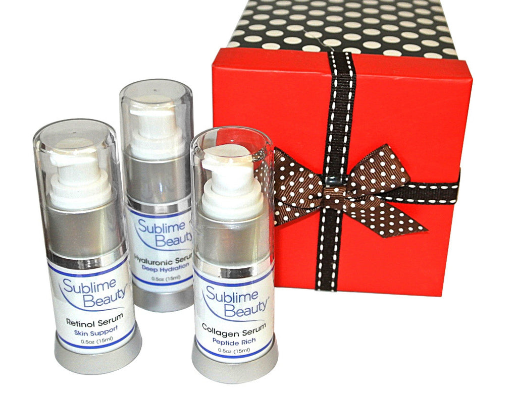 Gift Box with Three Sublime Beauty® Serums