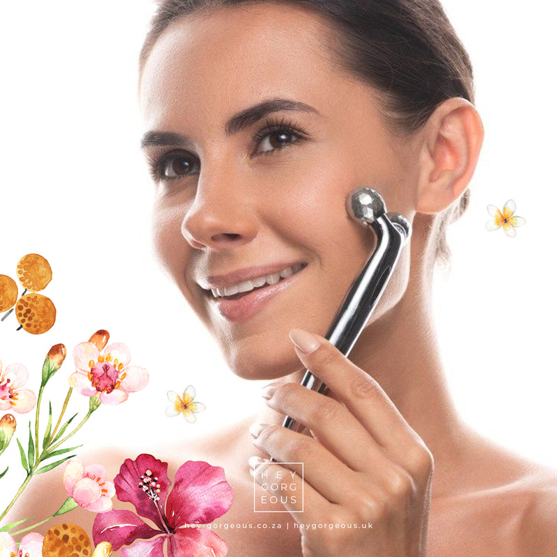 3D Microcurrent Facial Roller & Body Massager