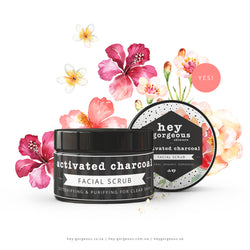 Activated Charcoal Detoxifying & Soothing Facial Scrub