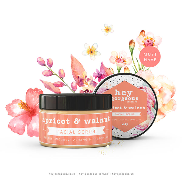 Apricot & Walnut Facial Scrub