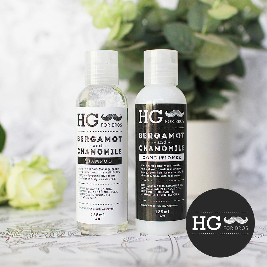HG For Bros Bergamot & Chamomile Shampoo & Conditioner