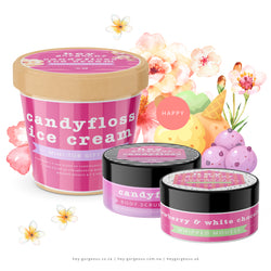 Candyfloss Ice Cream Mini Tub Gift Set