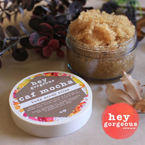 Caf Mocha Body Scrub Bliss