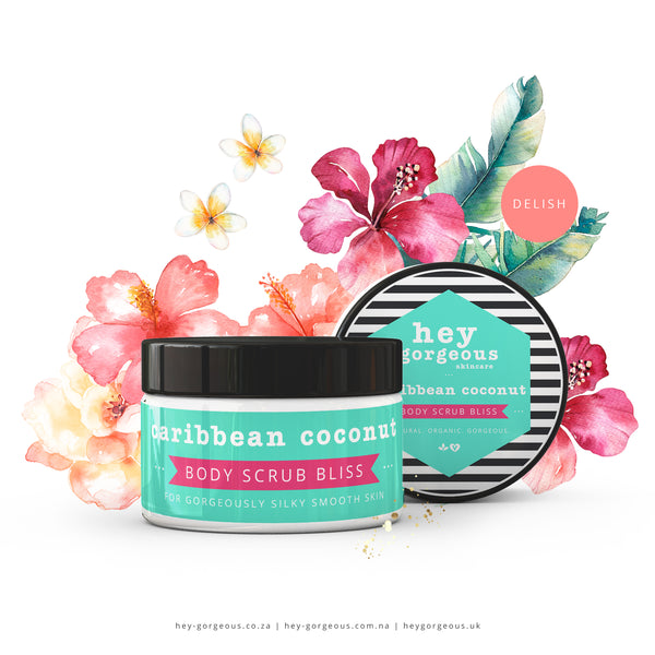 Caribbean Coconut Body Scrub Bliss