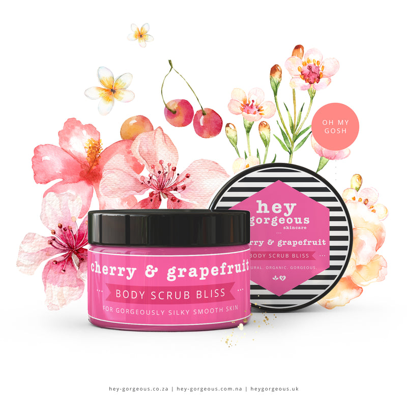 Cherry & Grapefruit Body Scrub Bliss