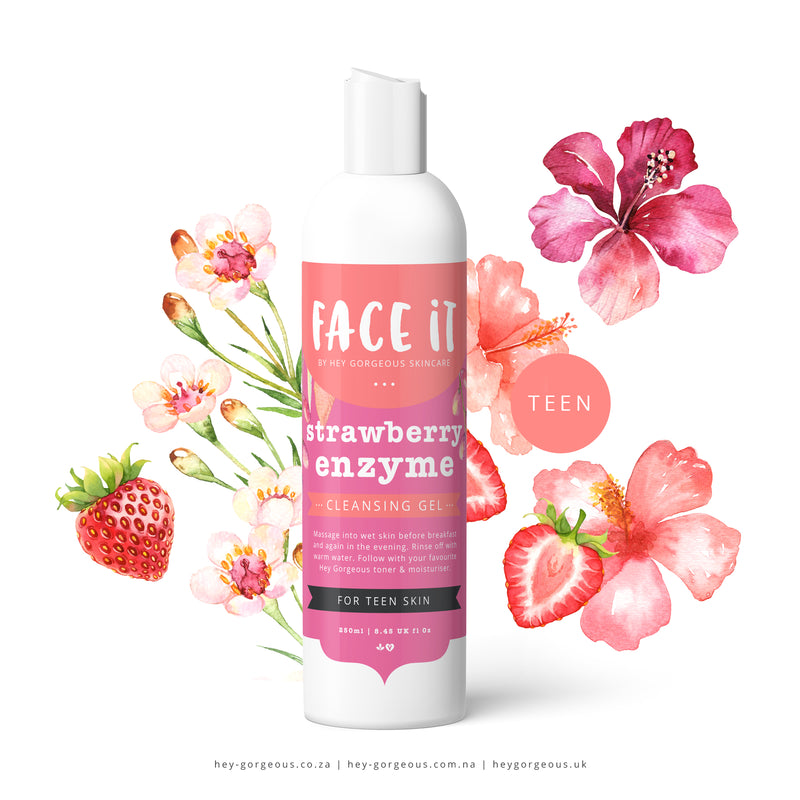 Face It Strawberry Enzyme Cleansing Gel