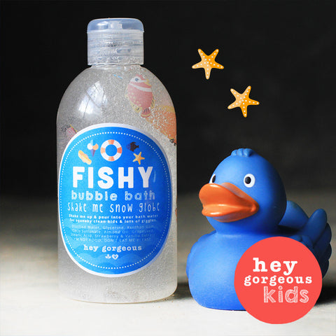 O-Fishy Bubble Bath Shake Me Snow Globe