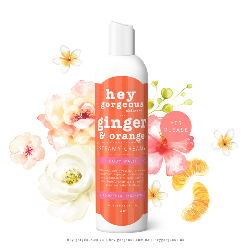 Ginger & Orange Steamy Creamy Body Wash