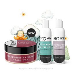HG For Bros The Ultimate Facial Mane Taming Beard Kit