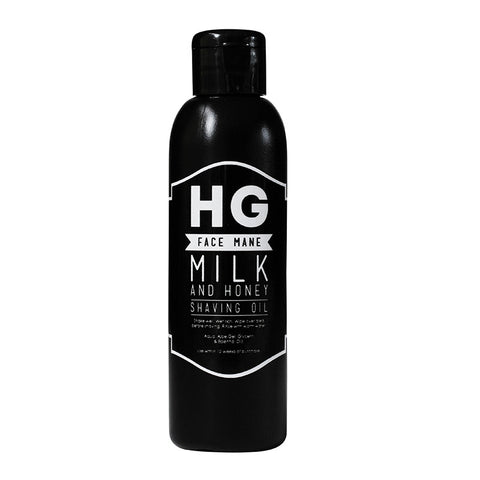 HG For Bros Milk & Honey Shaving Oil