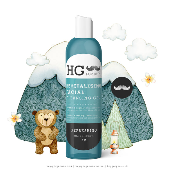 HG For Bros Revitalising Cleansing Gel