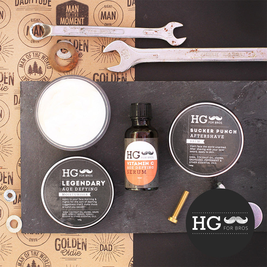 HG For Bros Man Of The Moment Triple Threat Kit - Hey Gorgeous