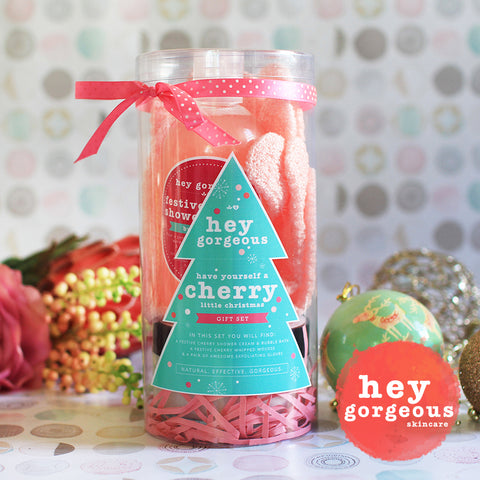 Have Yourself A Cherry Little Christmas Gift Set