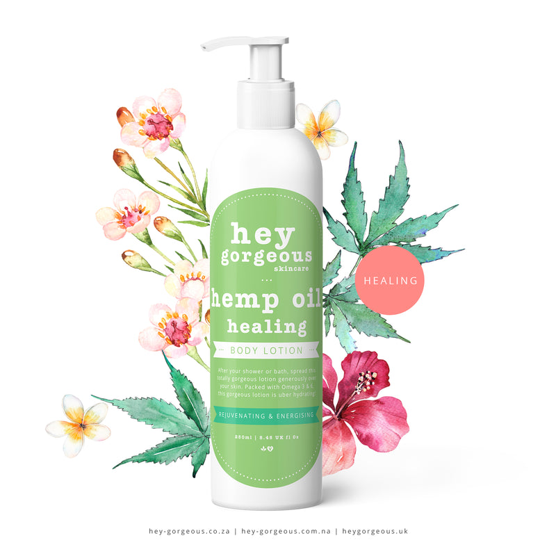 Hemp Oil Healing Lotion