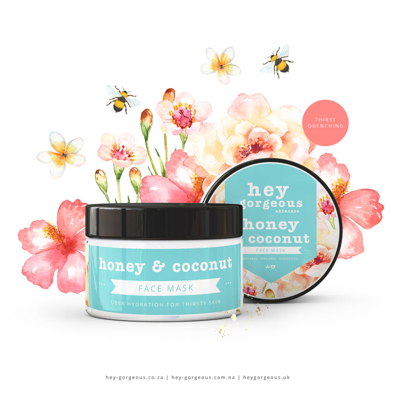 Honey & Coconut Face Mask